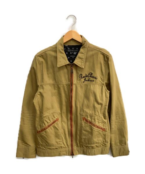 COLLARS×JACKROSE(カラーズ×ジャックローズ)COLLARS×JACKROSE (カラーズ×ジャックローズ) ジップアップジャケット カーキ サイズ:Lの古着・服飾アイテム