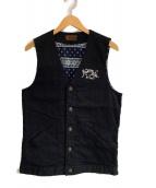 KUSTOM STYLE(カスタムスタイル)の古着「ベスト」|ブラック
