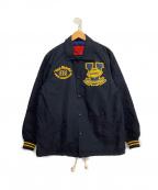 VAN JAC(ヴァンジャック)の古着「コーチジャケット」|ブラック