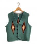 ORTEGAS(オルテガ)の古着「チマヨベスト」 グリーン