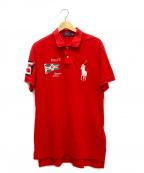 POLO RALPH LAUREN()の古着「ポロシャツ」|レッド