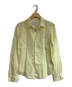 Frank&Eileen(フランクアンドアイリーン)の古着「リネンシャツ」 イエロー