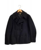 FIDELITY(フィデリティー)の古着「Pコート」|ブラック