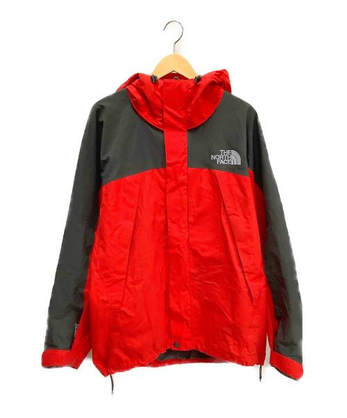 THE NORTH FACE(ザ ノース フェイス)THE NORTH FACE (ザ ノース フェイス) マウンテンジャケット レッド×ブラック サイズ:Lの古着・服飾アイテム