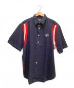 POLO JEANS CO.(ポロジーンズカンパニー)の古着「半袖シャツ」|ネイビー