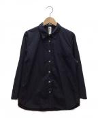 MHL(エムエイチエル)の古着「シャツ」|ネイビー