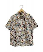 BURBERRY BLACK LABEL(バーバリーブラックレーベル)の古着「半袖シャツ」|ホワイト