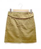 SEE BY CHLOE(シーバイクロエ)の古着「ミニスカート」|ブラウン