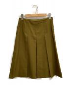ADORE(アドーア)の古着「スカート」|オリーブ