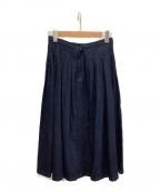 GRANDMA MAMA DAUGHTER()の古着「デニムスカート」|ネイビー