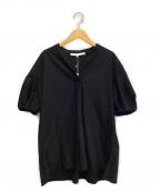 自由区(ジユウク)の古着「半袖カットソー」|ブラック