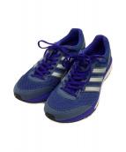 adidas(アディダス)の古着「ランニングシューズ」|ブルー