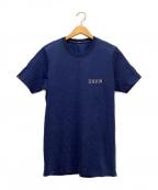 Denham()の古着「Tシャツ」|ネイビー