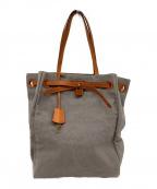 genten()の古着「キャンパスバッグ」|ライトグレー