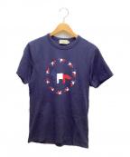 maison kitsune(メゾンキツネ)の古着「Tシャツ」|ネイビー