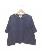 Traditional Weatherwear(トラディショナルウェザーウェア)の古着「ショートカットソー」|ネイビー