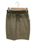 ()の古着「スカート」|カーキ
