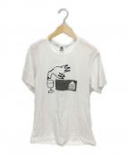COMME des GARCONS(コムデギャルソン)の古着「プリントTシャツ」 ホワイト