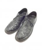 COMME des GARCONS(コムデギャルソン)の古着「キャップトゥシューズ」 ブラック