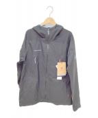 ()の古着「マサオハードシェルフーデットジャケット」 ブラック