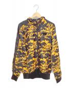 ()の古着「ウインドジャケット」 イエロー×ブラック