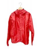 ()の古着「レインジャケット」 レッド