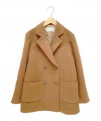 ETRE(エトレ)の古着「Pコート」|ブラウン
