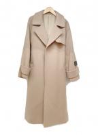Mila Owen(ミラオーウェン)の古着「マンテコトレンチコート」|ベージュ