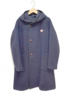 ()の古着「フーデッドコート」|ネイビー
