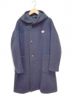 DANTON(ダントン)の古着「フーデッドコート」 ネイビー