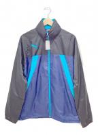 PUMA(プーマ)の古着「ラインドジャケット」 ネイビー×ブルー