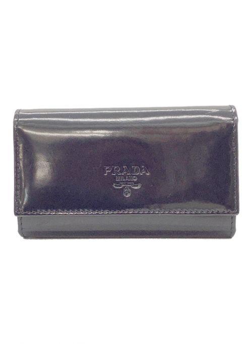 PRADA(プラダ)PRADA (プラダ) 5連キーケース ブラックの古着・服飾アイテム