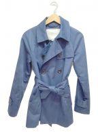 COACH()の古着「トレンチコート」|ネイビー