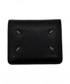 Maison Margiela(メゾンマルジェラ)の古着「2つ折り財布」|ブラック