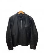 Schott(ショット)の古着「シングルライダースジャケット」 ブラック