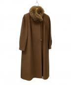 SAGA MINK()の古着「ミンクコート」|ブラック