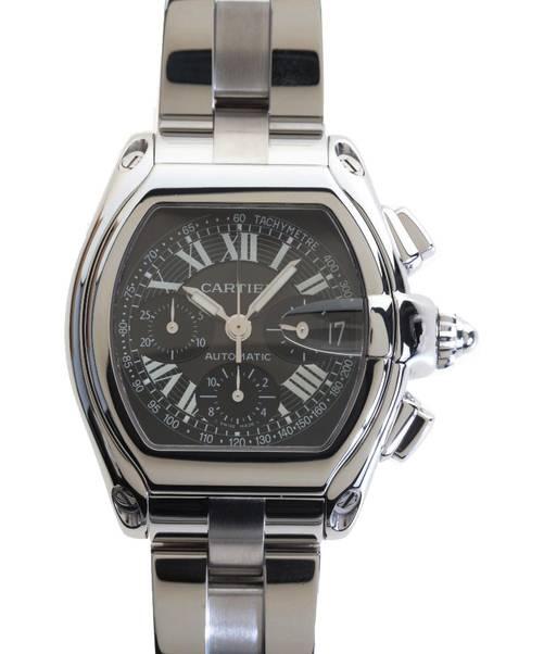 new products 674a6 9aaab [中古]Cartier(カルティエ)のメンズ 服飾小物 ロードスター クロノグラフウォッチ/■腕時計