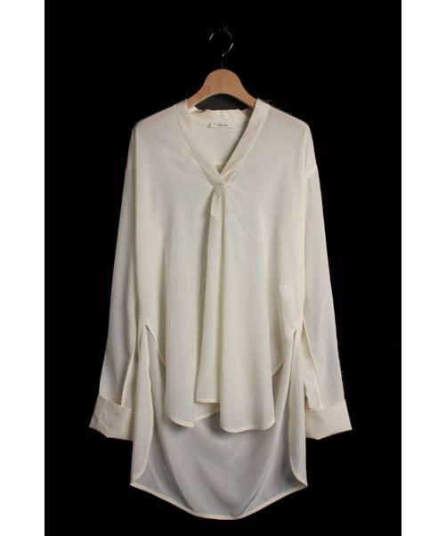 4b248d94c4728 中古・古着通販 CELINE (セリーヌ) ダブルカフスシャツ オフホワイト ...