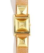 HERMES(エルメス)の古着「腕時計」|ホワイト(文字盤)