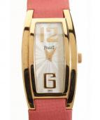 PIAGET(ピアジェ)の古着「ライムライトトノー/ウォッチ」|ホワイト×ゴールド×ピンク