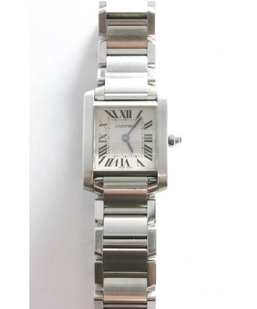 862f1a353b9f 中古・古着通販】Cartier (カルティエ) レディースウォッチ ホワイト ...