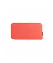 HERMES(エルメス)の古着「ラウンドファスナー長財布」|ピンク
