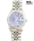 ROLEX(ロレックス)の古着「デイトジャスト/腕時計」|シルバー