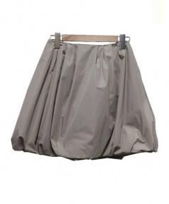 FOXEY_NEWYORK(フォクシーニューヨーク)の古着「バロンスカート」 ベージュ