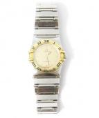OMEGA(オメガ)の古着「クォーツ腕時計」|イエロー