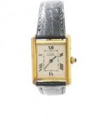 Cartier(カルティエ)の古着「レディスウォッチ」|ホワイト