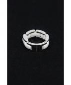 CHANEL(シャネル)の古着「J2642/ウルトラコレクションリング/K18WG」|ホワイト