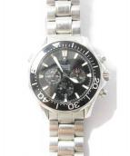 OMEGA(オメガ)の古着「シーマスター/腕時計」|ブラック(文字盤)