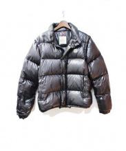 MONCLER(モンクレール)の古着「2WAYダウンジャケット」|ブラック