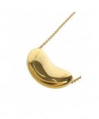 Tiffany&Co.(ティファニーアンドコー)の古着「K18YG/ビーンズネックレス」|ゴールド